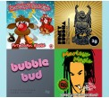 4 x 3g Combo Pack - Marley's Magic / Funky Buddha / BubbleBud / Funky Buddha Silver Blend