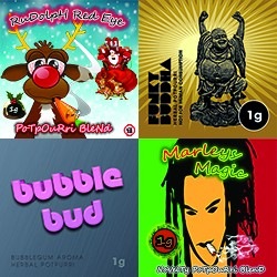 4 x 1g Combo Pack - Marley's Magic / Funky Buddha / BubbleBud / Funky Buddha Silver Blends